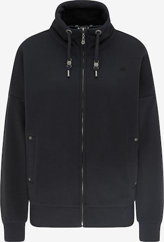 DreiMaster Vintage Sweatjacke in Schwarz