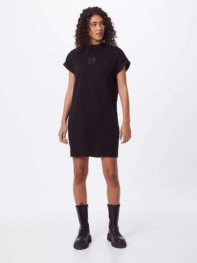 Urban Classics Šaty - šedá / černá, Model/ka