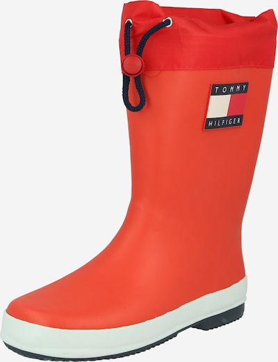 TOMMY HILFIGER Rubber boot in Red, Item view
