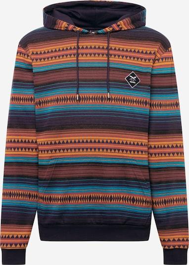 Bluză de molton 'Vintachi' Iriedaily pe bleumarin / albastru deschis / portocaliu / roșu pastel, Vizualizare produs