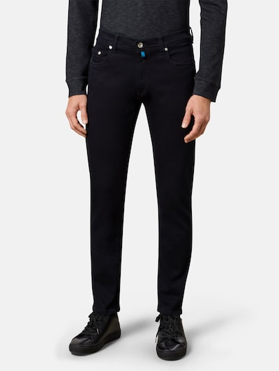 PIERRE CARDIN Jeans 'Lyon' in navy / türkis / dunkelgrau, Modelansicht
