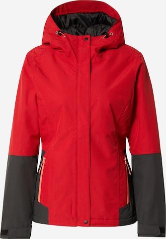 Giacca per outdoor 'BELPRE' di ICEPEAK in rosso