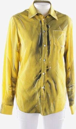 MOSCHINO Bluse in L in gelb / schwarz, Produktansicht