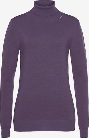 BRUNO BANANI Sweater in Purple