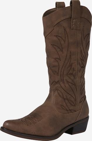 Hailys - Botas 'Monica' en marrón