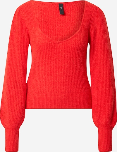 Y.A.S Pullover 'DAPHNE' in rot, Produktansicht