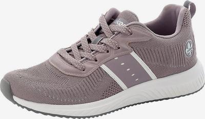Sneaker bassa RIEKER di colore sambuco / bianco lana, Visualizzazione prodotti