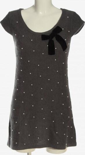 LOVER Longshirt in L in braun / schwarz / wollweiß, Produktansicht
