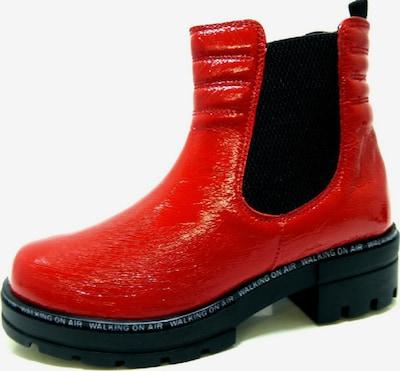 CAPRICE Stiefelette in rot / schwarz, Produktansicht