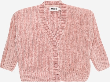 Geacă tricotată 'Gianna' de la Molo pe roz