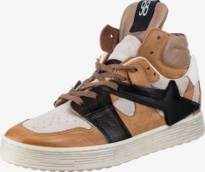A.S.98 Sneaker in beige / cognac / schwarz / weiß, Produktansicht