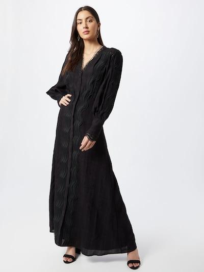 Rochie tip bluză Copenhagen Muse pe negru, Vizualizare model
