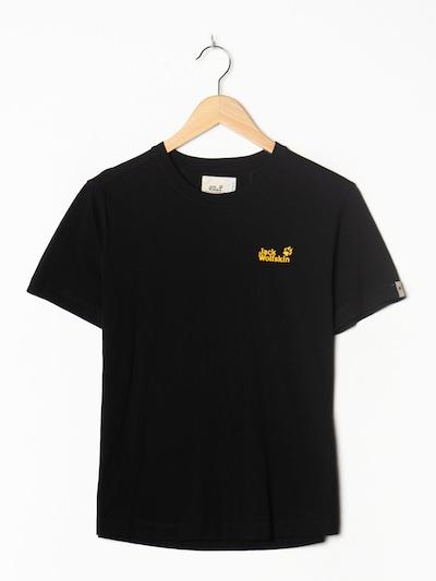 JACK WOLFSKIN Sport T-Shirt in M-L in schwarz, Produktansicht