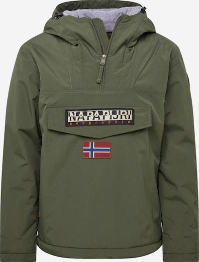 NAPAPIJRI Prijelazna jakna u zelena / crna, Pregled proizvoda