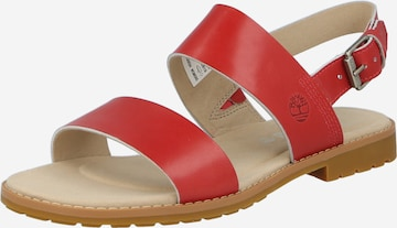 TIMBERLAND Sandals 'Chicago' in Red