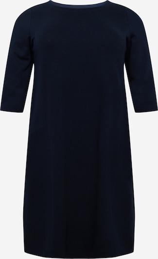 Rochie tricotat MY TRUE ME pe albastru închis, Vizualizare produs