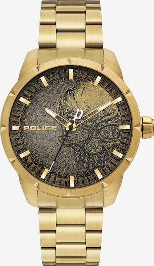 POLICE Quarzuhr 'NEIST, PL15715JSG.02AM' in gold / schwarz, Produktansicht
