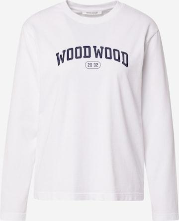 WOOD WOOD Shirt 'Astrid' in Weiß