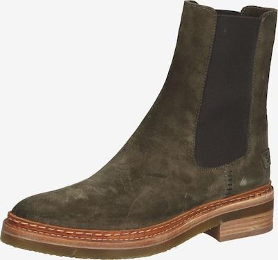 SHABBIES AMSTERDAM Chelsea Boots in khaki / schwarz, Produktansicht