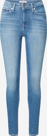 Jeans 'NORA' Tommy Jeans pe bleumarin / albastru denim / roșu / alb, Vizualizare produs