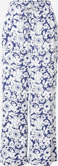 Gina Tricot Byxa 'Disa' i blå / vit, Produktvy