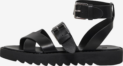 ONLY Sandaler med rem 'Malu' i sort, Produktvisning