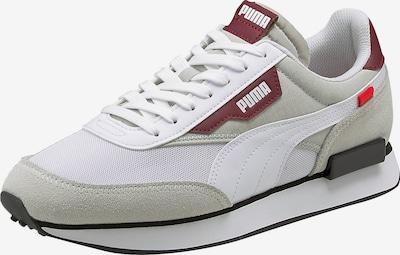 bézs / sötétvörös / fehér PUMA Rövid szárú edzőcipők, Termék nézet