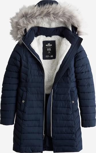 Palton de iarnă HOLLISTER pe albastru, Vizualizare produs