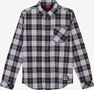 s.Oliver Overhemd in de kleur Zwart / Wit, Productweergave