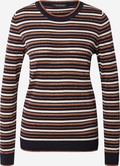 SCOTCH & SODA Sweater in Beige / Black / White, Item view