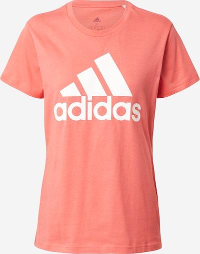 ADIDAS PERFORMANCE T-shirt fonctionnel en corail / blanc, Vue avec produit
