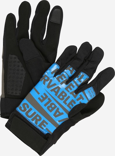 REEBOK Gants de sport en bleu clair / anthracite / gris foncé, Vue avec produit