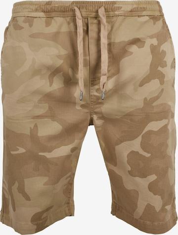 Pantalon Urban Classics en beige