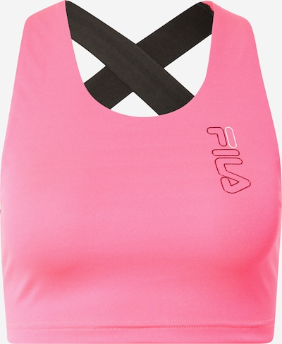 FILA Sporttop 'EULA' in pink / schwarz / weiß, Produktansicht