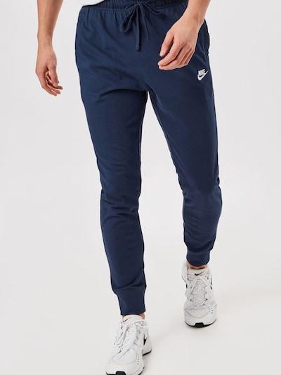 Nike Sportswear Bukser i navy, Modelvisning