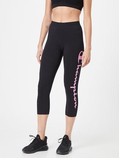 Champion Authentic Athletic Apparel Leggings in anthrazit / rosa, Modelansicht