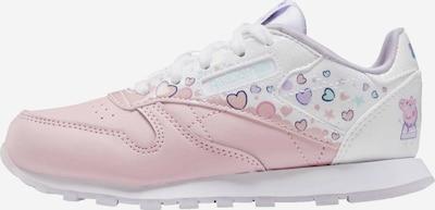 Reebok Classics Sneaker in blau / mint / lila / pink / weiß, Produktansicht