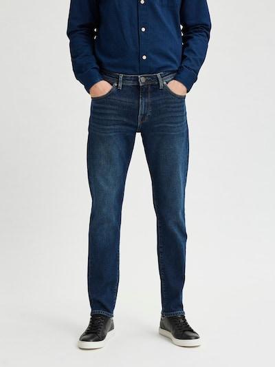 SELECTED HOMME Jeansy 'Scott' w kolorze ciemny niebieskim, Podgląd na modelu(-ce)