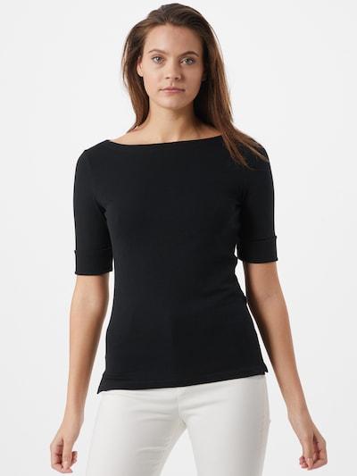 Tricou 'JUDY' Lauren Ralph Lauren pe negru: Privire frontală