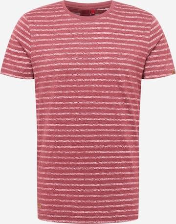 Ragwear Shirt 'STEEF' in Rot