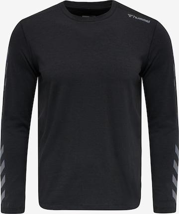 Hummel Performance shirt 'Mace' in Black