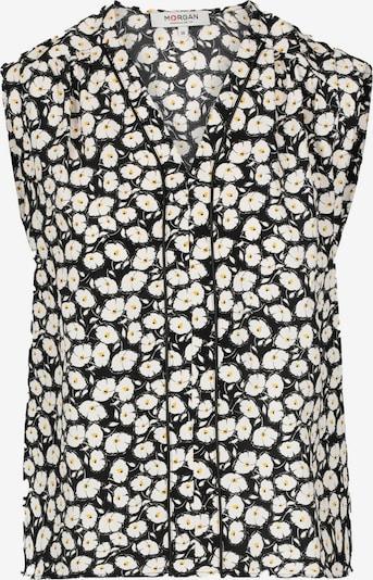 Morgan Bluse in gelb / schwarz / weiß, Produktansicht