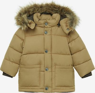 MANGO KIDS Zimska jakna 'LUCA' | pastelno rumena barva, Prikaz izdelka