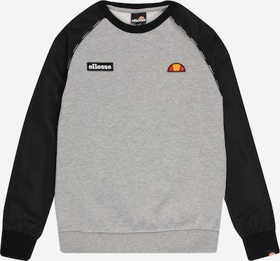 ELLESSE Sweatshirt 'Zapha' in gelb / graumeliert / rot / schwarz, Produktansicht