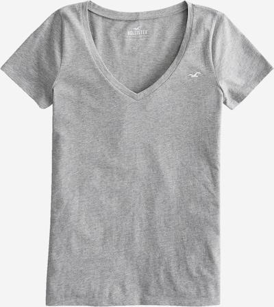 HOLLISTER Koszulka w kolorze szary / białym, Podgląd produktu