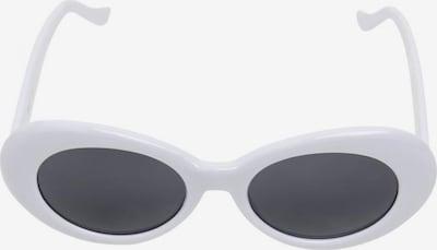 Urban Classics Lunettes de soleil en noir / blanc, Vue avec produit
