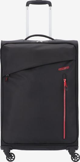 American Tourister Trolley 'Litewing' in rot / schwarz, Produktansicht