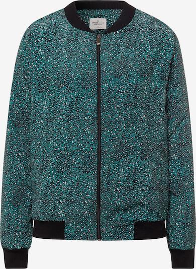 Cross Jeans Übergangsjacke in beige / grün / schwarz, Produktansicht