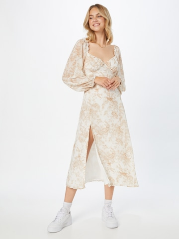 Missguided Cocktail dress in White