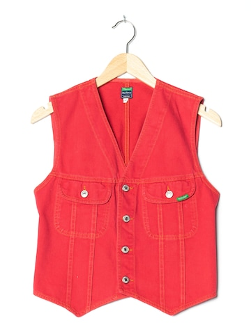 UNITED COLORS OF BENETTON Jeansweste in S in Rot
